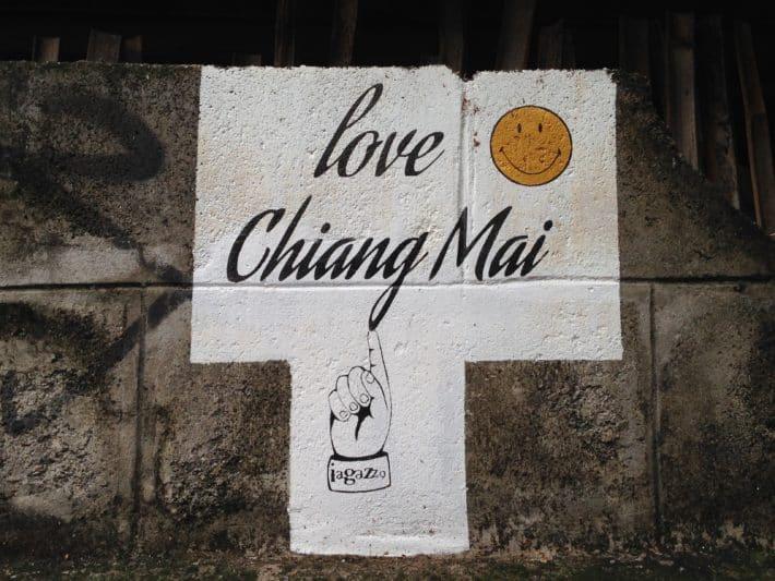 Street Art Love Chiang Mai