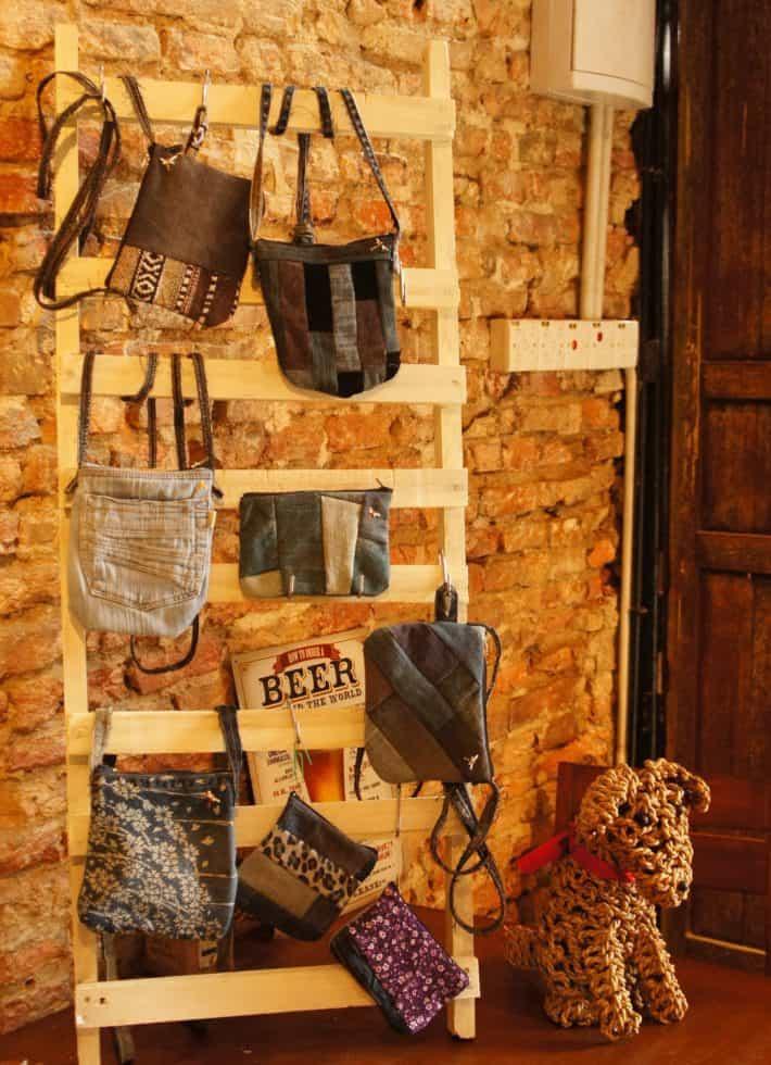Kleine Ausstellung der Bags for Kids