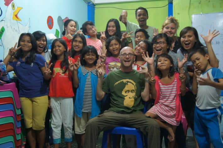 Lee spendet die Erlöse von Bags for Kids gerne an die Dian Bersinar Foundation