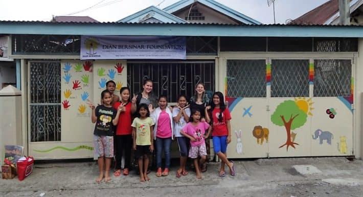 Dian Bersinar Foundation unterstützt von Bags for Kids