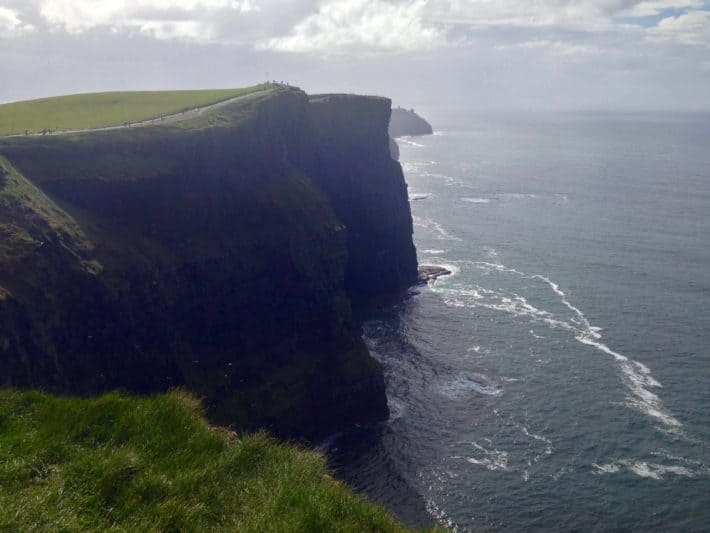 Linker Weg, Cliffs of Moher, Klippen, Meer