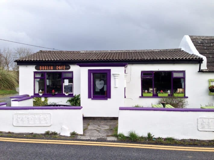 Cafe in Doolin