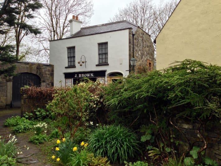Altes Haus im Bunratty Folk Park
