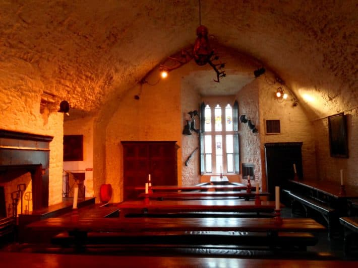 Festsaal im Bunratty Castle