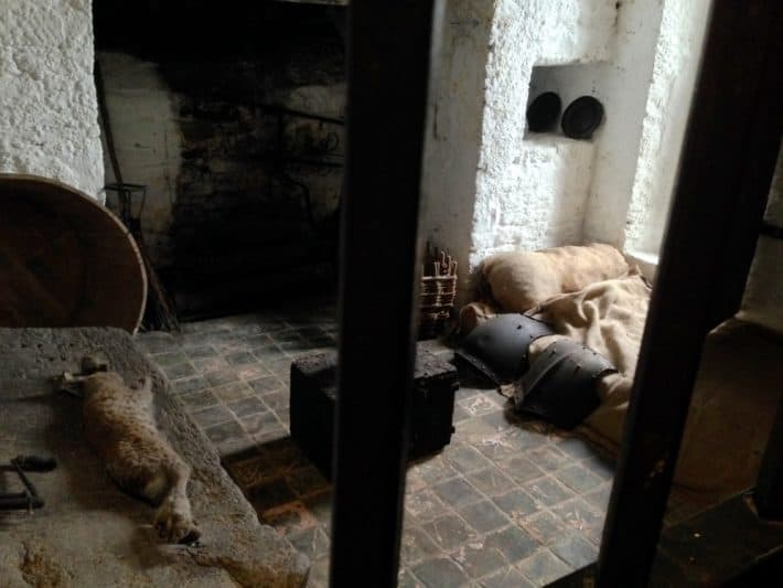 Zimmer im Bunratty Castle