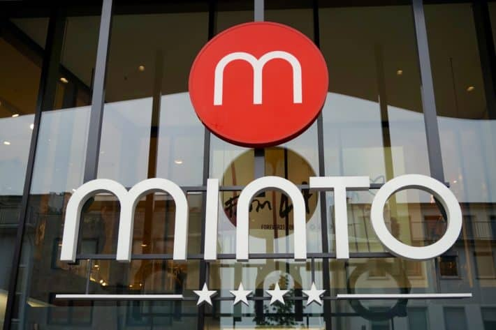 Logo Minto Shoppingcenter in Mönchengladbach