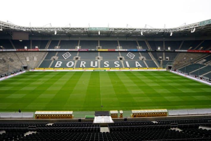 Fohlenelf: Im Borussiapark