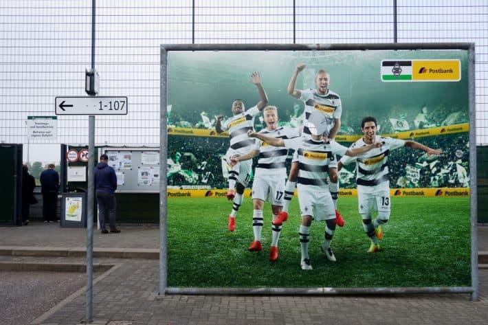 Folhenelf, Fotowand und Trainingsplatz am Borussiapark