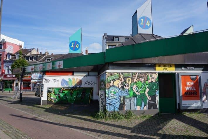 Das Viertel: Eine Institution, der Werder Kiosk in Bremen