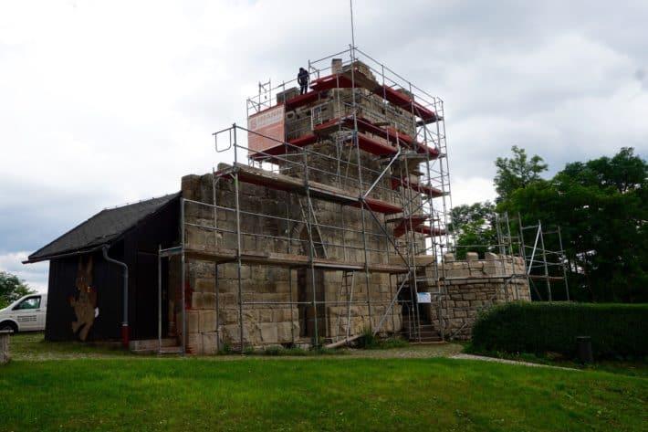 Pummpälzweg, Ruine, Frankenstein, Burgruine