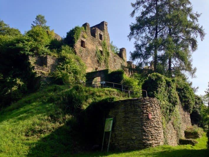 Hildegard von Bingen Pilgerwanderweg, Burgruine
