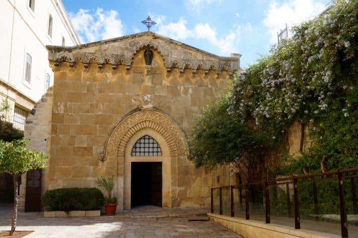 Via Dolorosa, 2. Kreuzwegstation, Jerusalem, Kirche