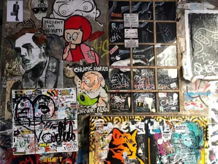 Streetart, Berlin, Rosenthaler Str. 39