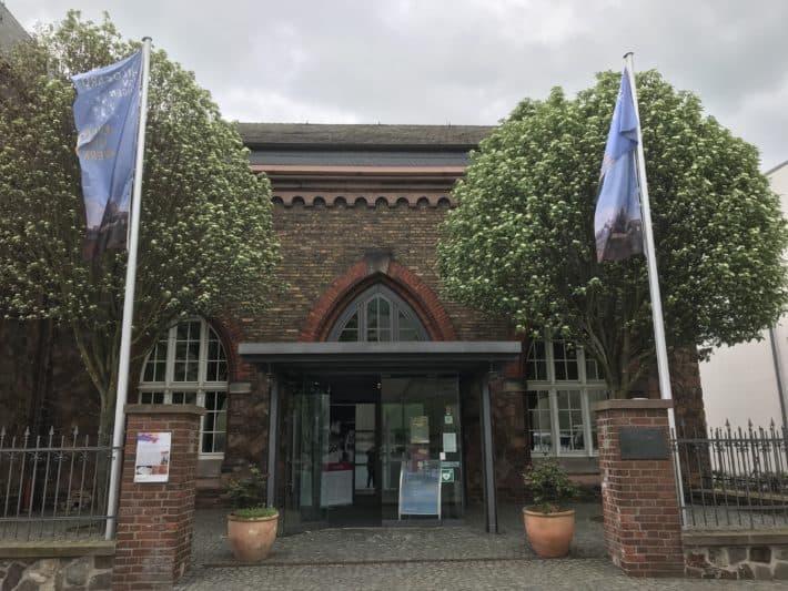 Binger Hildegardweg, Mueseum am Strom, Gebäude von außen, alt, Industriedenkmal