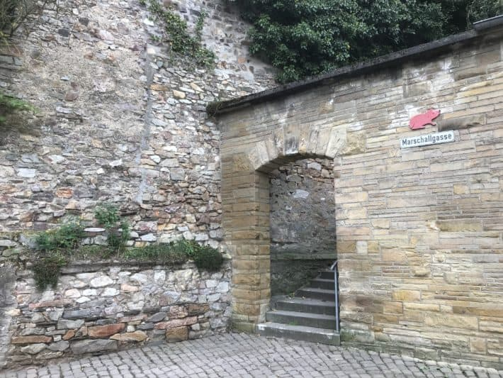 Stadtmauer Binger Hildegardweg