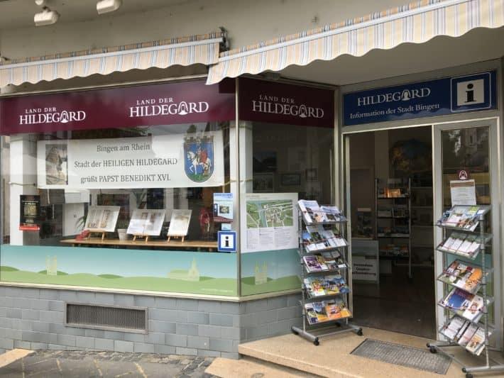 Informationspunkt rund um den Binger Hildegardweg
