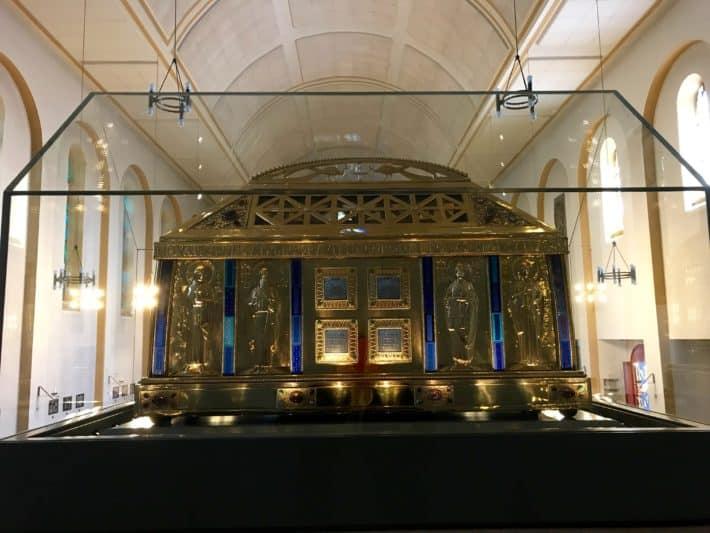 Hildegardisschrein, Wallfahrtskirche, Eibingen, Hildegard von Bingen