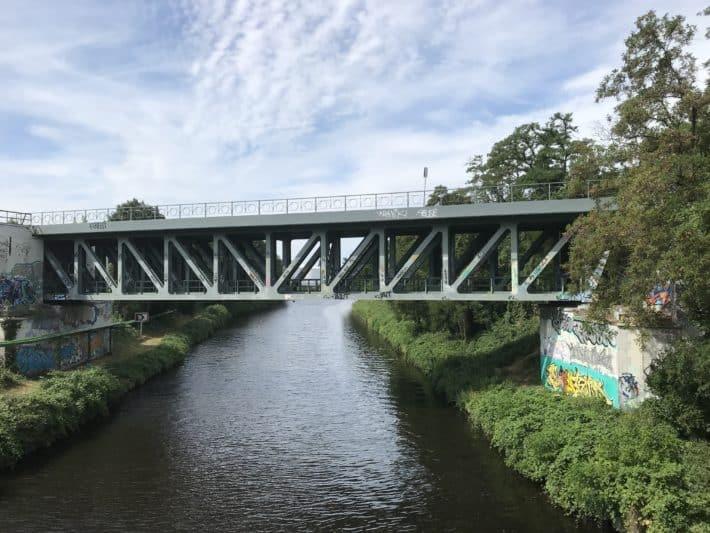 Brücke über den Teltokanal Brücke, Teltowkanal, 1. Etappe der Via Imperii