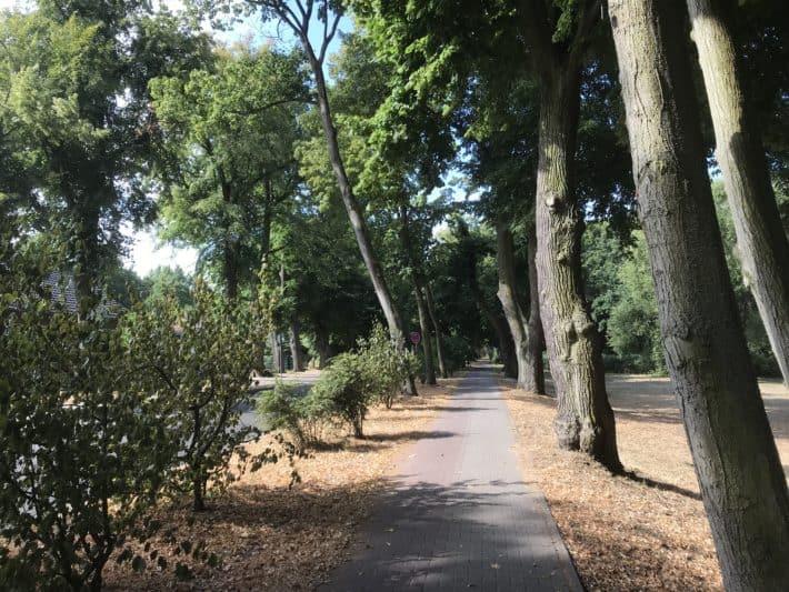 Wanderweg, Straße, Wohnviertel, 2. Etappe der Via Imperii