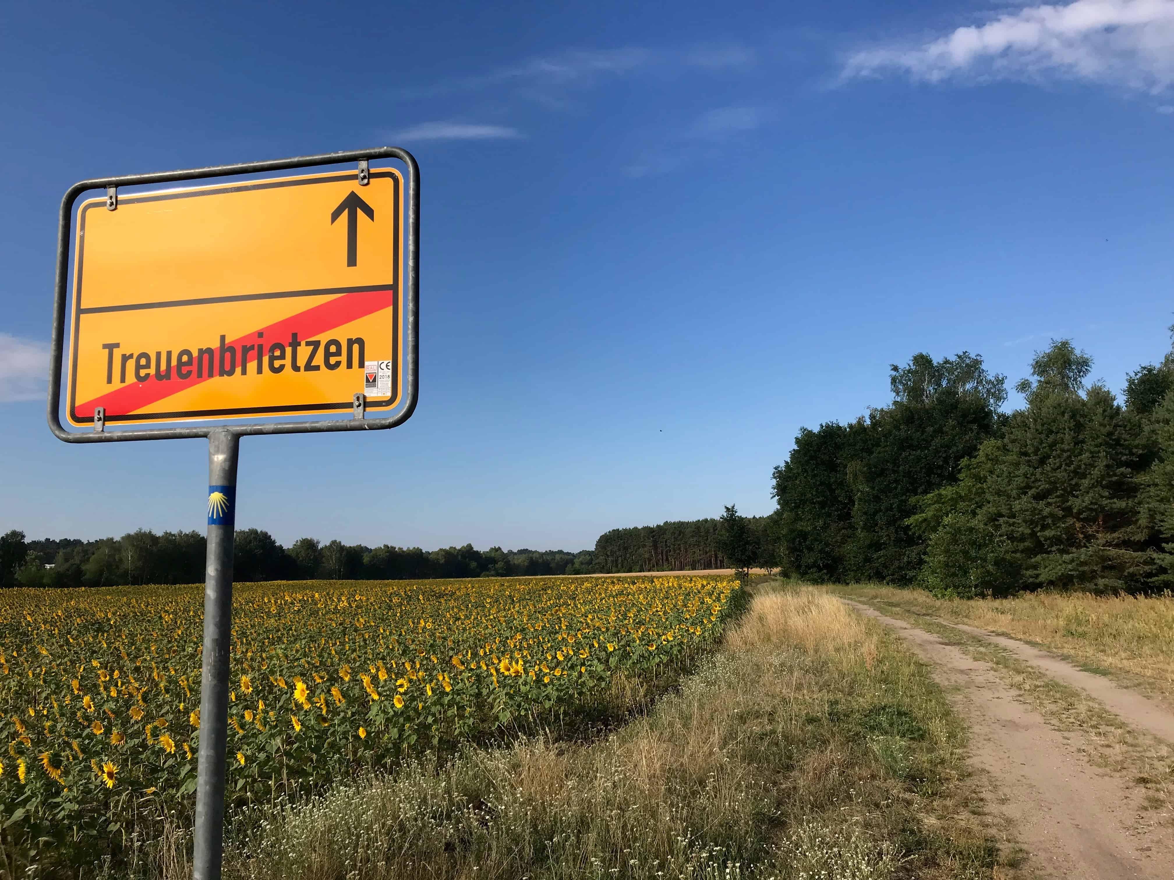 Meine 5. Etappe auf der Via Imperii: Treuenbrietzen - Marzahna - Misses Backpack