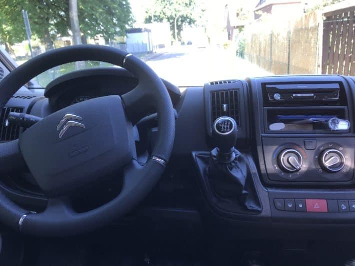 Fahrerhaus, Cockpit, Citroen Jumper, Clever Celebration 600